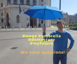 #wego #demokratie #umbrella